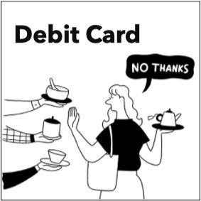 みんなの銀行 【Debit Card】デビットカード